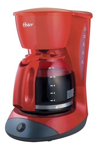 Cafeteira Elétrica Oster Red Cuisine Vermelho 110v - Bvstdcdw12r-017