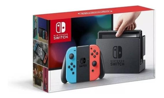 Nintendo Switch 32gb Colorido/cinza Pronta Entrega Promoção!