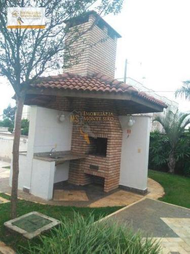 Imagem 1 de 15 de Apartamento Com 2 Dormitórios À Venda, 43 M² Por R$ 160.000,00 - Água Chata - Guarulhos/sp - Ap0829