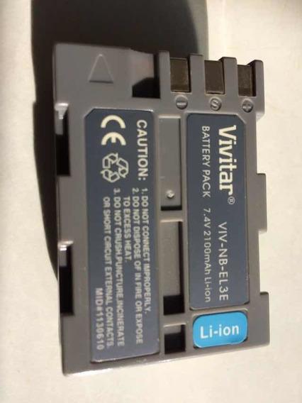 Bateria Vivitar Viv-nb-el3e 2100mah Li-ion Para Máquina Foto