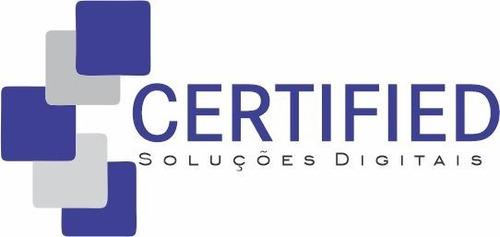 Certificado Digital Padrão Icp Brasil  E-cnpj A1 Val 1 Ano