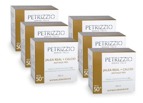 Crema Facial Jalea Real + Calcio Petrizzio Pack 6