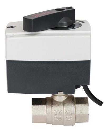 Válvula Bola De 1   Con Actuador Eléctrico 220v Danfoss