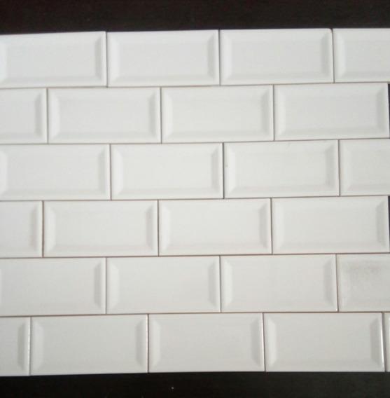 Azulejo Cerámica Blanco Brill Mondrian 7,5x15,4 Roca Incepa