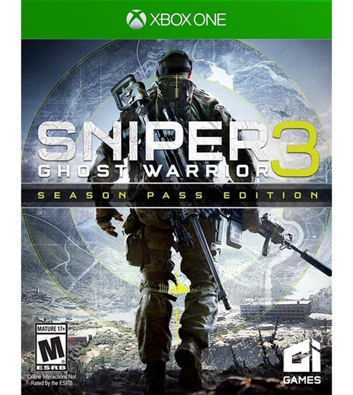 Sniper Ghost Warrior 3 Season Pass Edition - Xbox-one