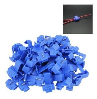 50X cable eléctrico conector de empalme rápido terminal de alambre de bloque P1