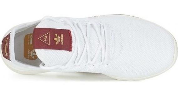 Tenis adidas Pw Hu W-pharrell Williams Blanco,vino,original