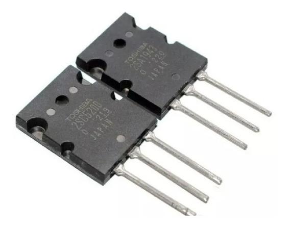 2sa1943 + 2sc5200 A1943 C5200 Complementario Pack X 2 Pares