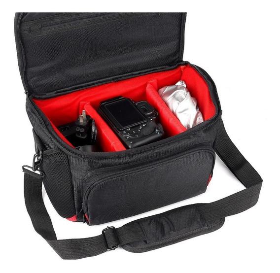 Bolsa P/ Câmera E Acessório Semi E Profissional