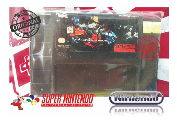 Killer Instinct Original Snes Super Nintendo