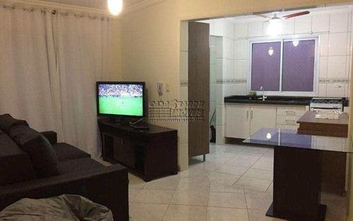 Imagem 1 de 22 de Apartamento Com 2 Dorms, Caiçara, Praia Grande - R$ 320.000,00, 74m² - Codigo: 5496 - V5496