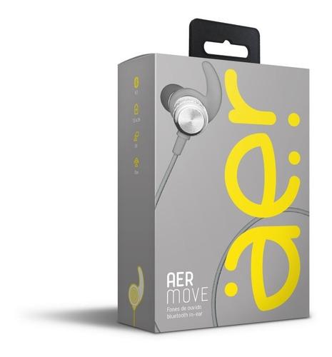 Fone De Ouvido Bluetooth Intra-auricular Aermove Prata - Era