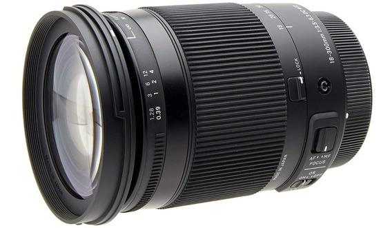 Lente Sigma 18-300mm F/3.5-6.3 Dc Macro Os Hsm Nikon
