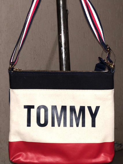 Mariconera Tommy Hilfiger Para Dama 100% Original