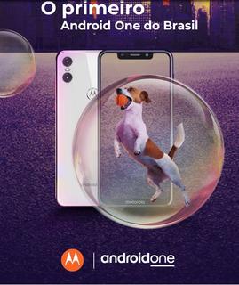 Smartphone Motorola One Xt1941 64gb Tela De 5,9 Pt Ou Br