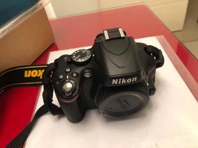 Câmera Nikon D5100 + Lente Nikon 18-105mm - Semi-nova