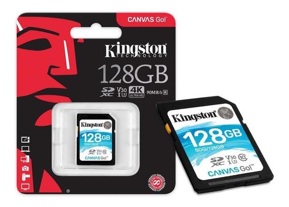 Cartao De Memoria Classe 10 Kingston Sdg 128gb Sdxc 128gb 90