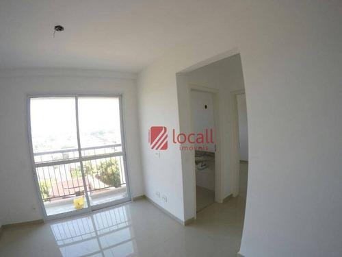 Apartamento Com 2 Dormitórios À Venda, 60 M² Por R$ 270.000,00 - Jardim Caparroz - São José Do Rio Preto/sp - Ap0136