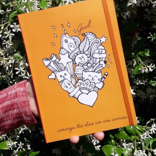 Imagen 1 de 4 de Cuaderno Liso  Comienza Tus Dias..  Lipa - Nixus