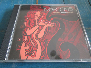 Cd Maroon 5 Songs About Jane Difusion C16