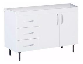 Bajo Mesada Reforzado 1.20 Cocina Oferta Mueble Y Patas 4