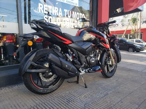 Tvs Rtr 200 Fi 4v 0km 2020  Financiacion Ramos Mejia