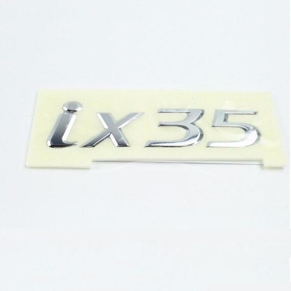 Emblema Traseiro Hyundai Ix35 Porta Malas