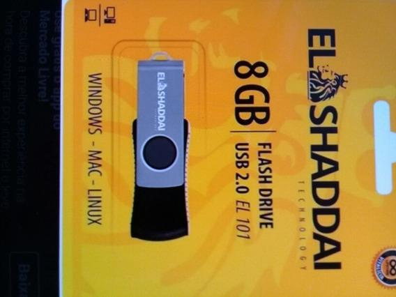 Pendrive El Shaddai 8gb Usb 2.0 El 101