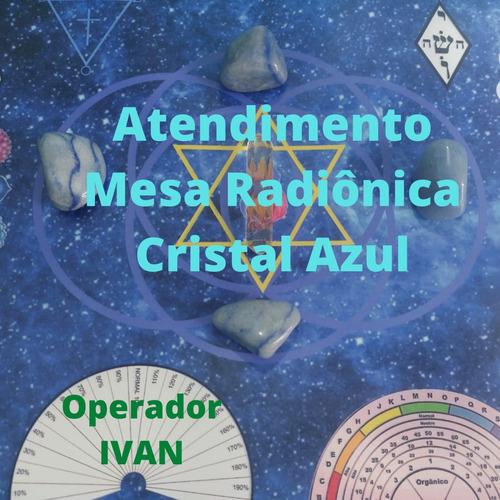 Imagem 1 de 2 de Atendimento Com A Mesa Radiônica Cristal Azul