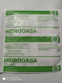 (50 Sobres) Gasa Estéril 20x20 Hidrogasa De Gasana