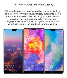 Huawei P20 Pro 128gb 6gb Fhd 6,1 Color Twilight (aurora)