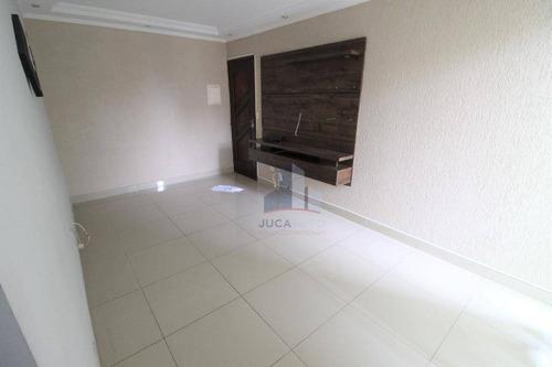 Apartamento Com 2 Dormitórios Para Alugar, 59 M² Por R$ 1.300,00/mês - Parque São Vicente - Mauá/sp - Ap1154