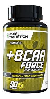 Bcaa Force 100 Capsulas - Mais Nutrition