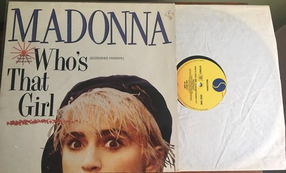 Lp Madonna - Whos That Girl (alemanha) Frete Grátis