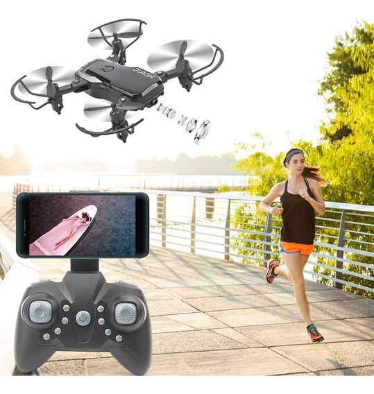 Pronta Entrega Mini Drone Câmera Hd Fpv Clone Dji Spark