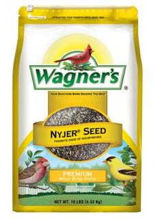Wagners 62050 Nyjer Seed Bird Food Bolsa De 10 Libras