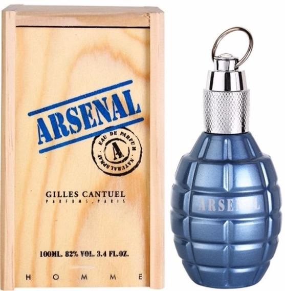 Arsenal Blue Masculino Eau De Parfum - Gilles Cantuel 100ml