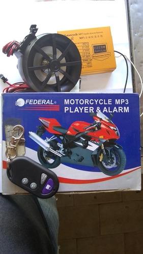 Alarma De Moto Mp3 Solo 1 Control