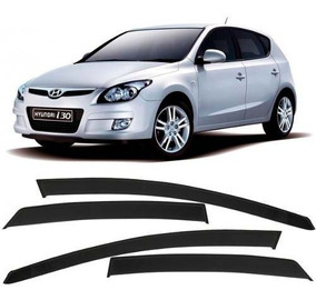 Calha De Chuva Acrilica Hyundai I30 2009 10 11 12 - 4 Portas
