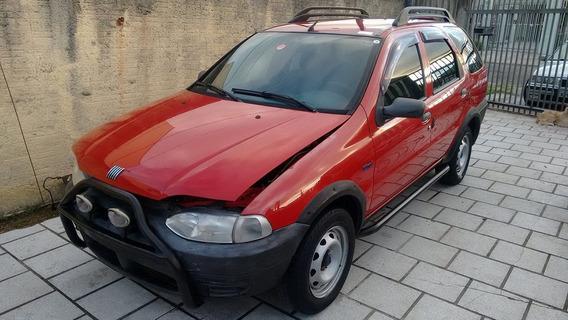 Fiat Palio Adventure 1.6mpi 2000 Sucata Em Peças