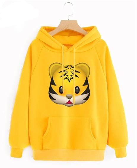 Sudadera Emoji Tigre Baby Lion En Todas Las Tallas Disponibl