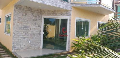 Casa À Venda, 180 M² Por R$ 370.000,00 - Floresta Das Gaivotas - Rio Das Ostras/rj - Ca1838