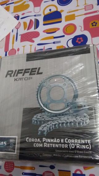 Kit Relação Yamaha Xtz Crosser Riffel Kit Top 41z X 14z