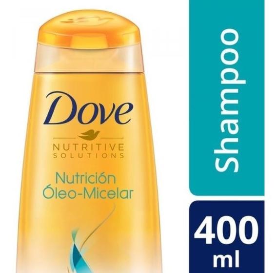 Shampoo Dove Nutricion Oleo Micelar 400 Ml.