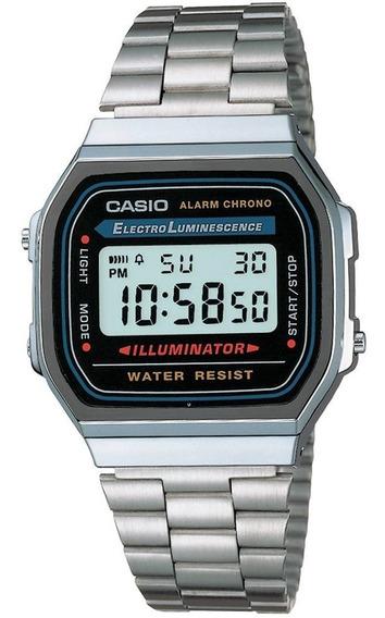 Relógio Unissex Casio Vintage Digital Fashion A168wa1wdf