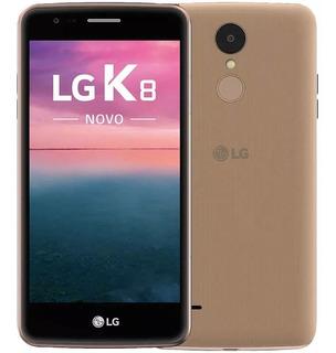 Smartphone Lg K8 Novo 16gb 4g 5.0 Câmera 13mp Dourado