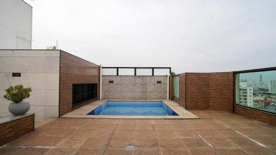 Cobertura Com 3 Dormitórios À Venda, 190 M² Por R$ 1.180.000,00 - Mooca - São Paulo/sp - Co0090