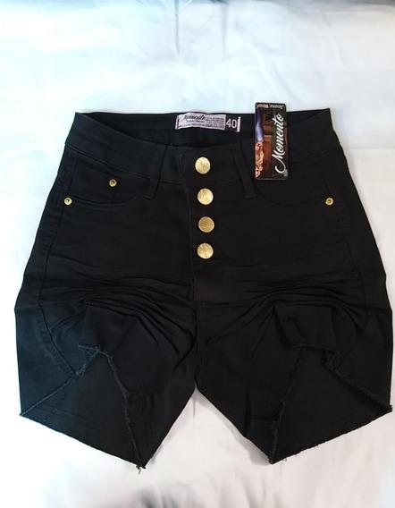 Shorts Curto Jeans Feminino Hot Pant