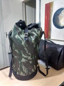 Bag Traseira Para Sissybar Estilo Saco Militar