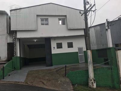 Galpão Comercial Para Locação, Jardim Alvorada, Jandira. - Ga0041